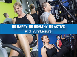 Bury Leisure sports centres