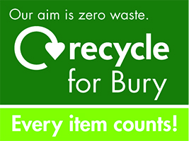 Recycle for Bury - our aim is zero waste