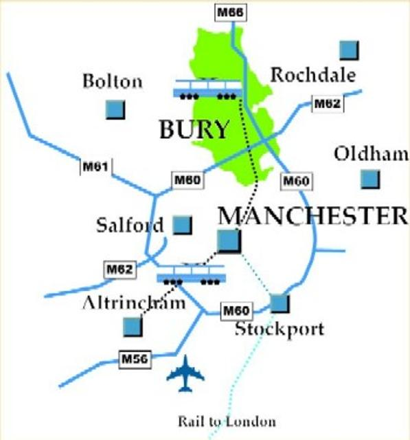 Getting to and around Bury Bury Council