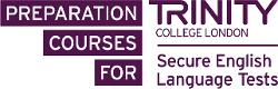 Trinity College - Secure English language tests logo