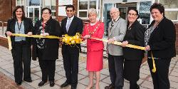 Rishi, along with the Mayor, reopening Killelea House