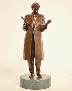 Victoria Wood - Limited edition bronze scale sculpture
